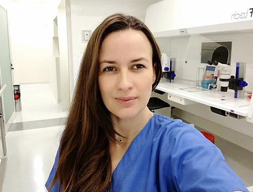 Embryologist María Guadalupe de Alba