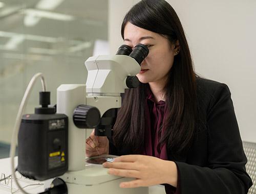 Embryologist Yui Umekawa