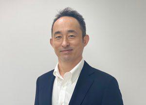 Global sales department chief Kenji Akita