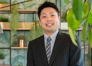 Domestic sales department Shingo Yamashita