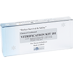Vitrification Kit 101(for 3 patients/up to 3 oocytes/embryos per application)